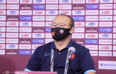 HLV Park: 'Cầu thủ Việt Nam đã chiến đấu đến giây cuối cùng'